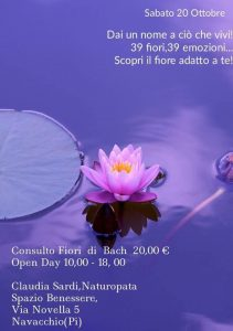 Open Day Naturopatia by Claudia Sarti